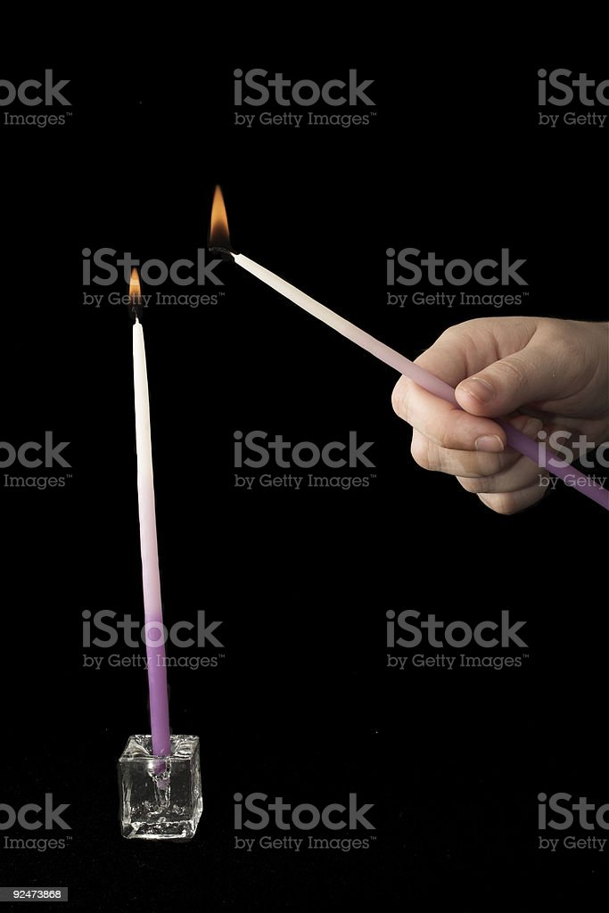 Candles #8 royalty-free stock photo