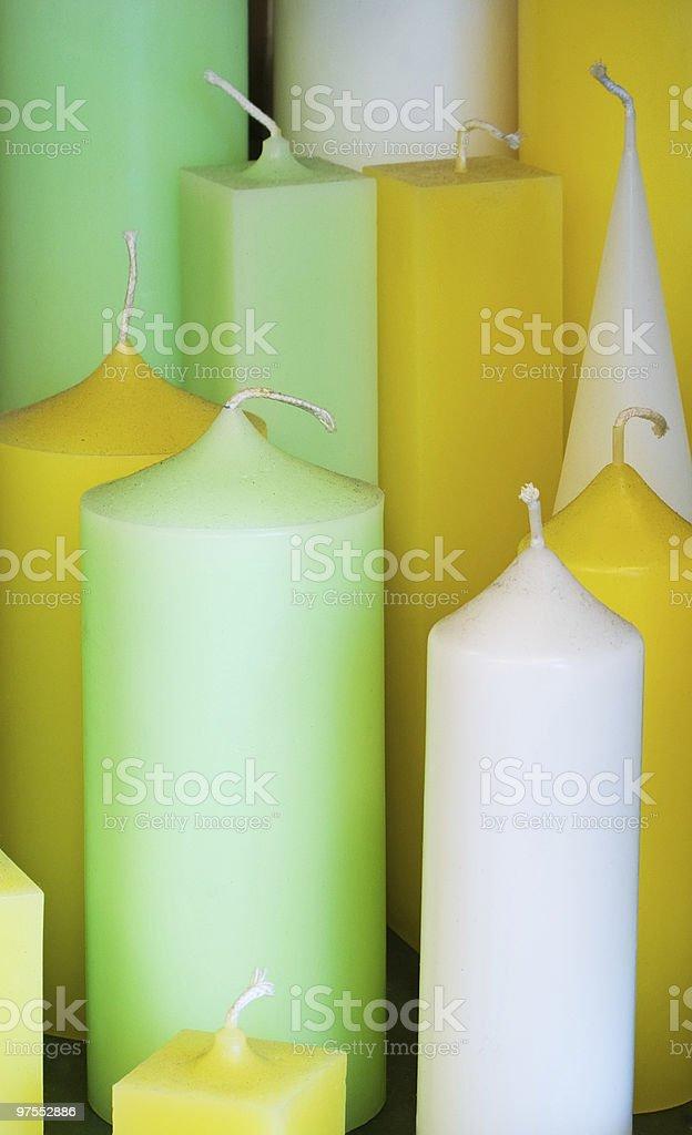 Des bougies photo libre de droits