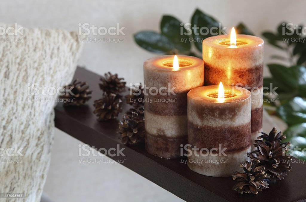 candles - Stock Image stock photo