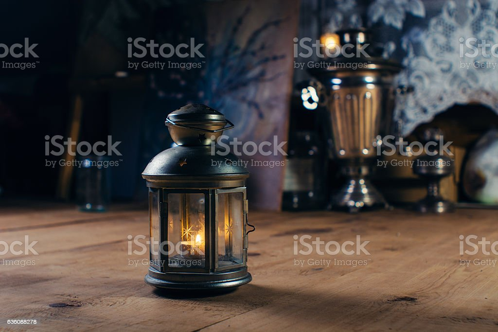 Candlestick stock photo