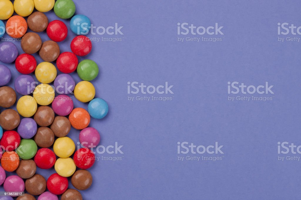 Candy - Background stock photo