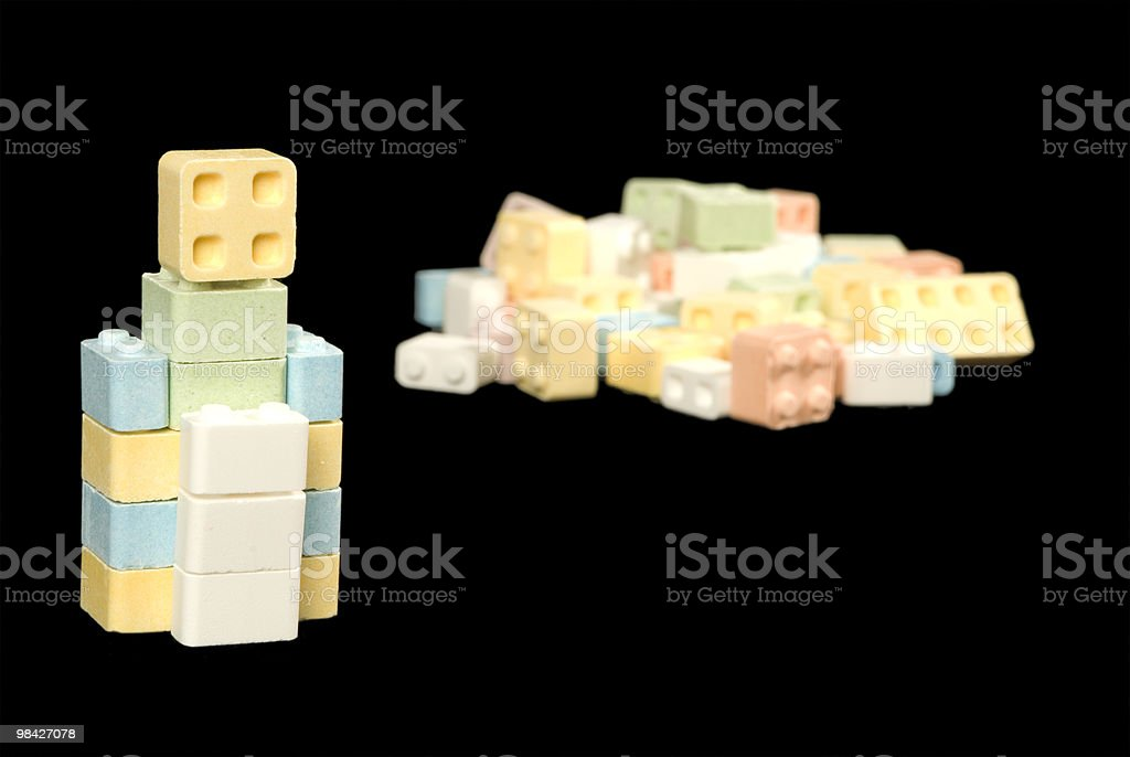 candy block royalty-free stock photo