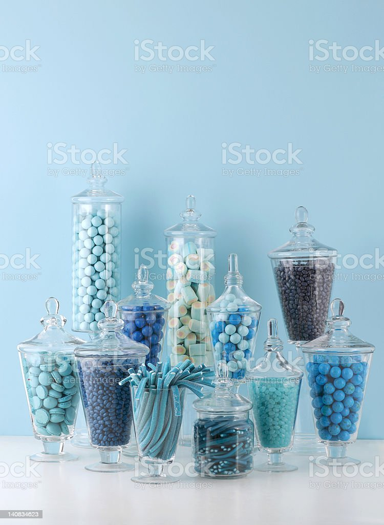 Candy bowls royalty-free stock photo