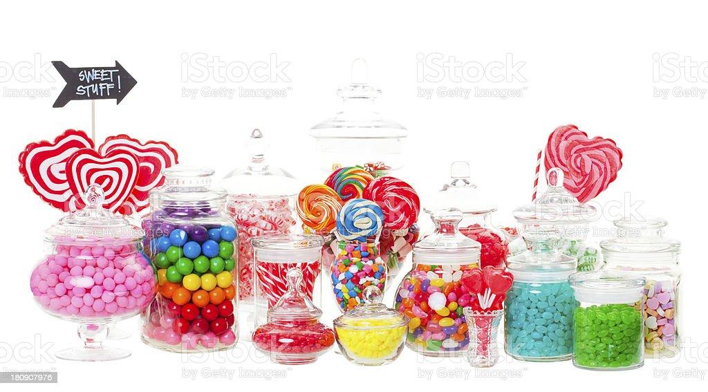 Candy Buffet stock photo