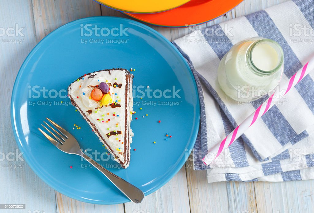 candy cake stock photo