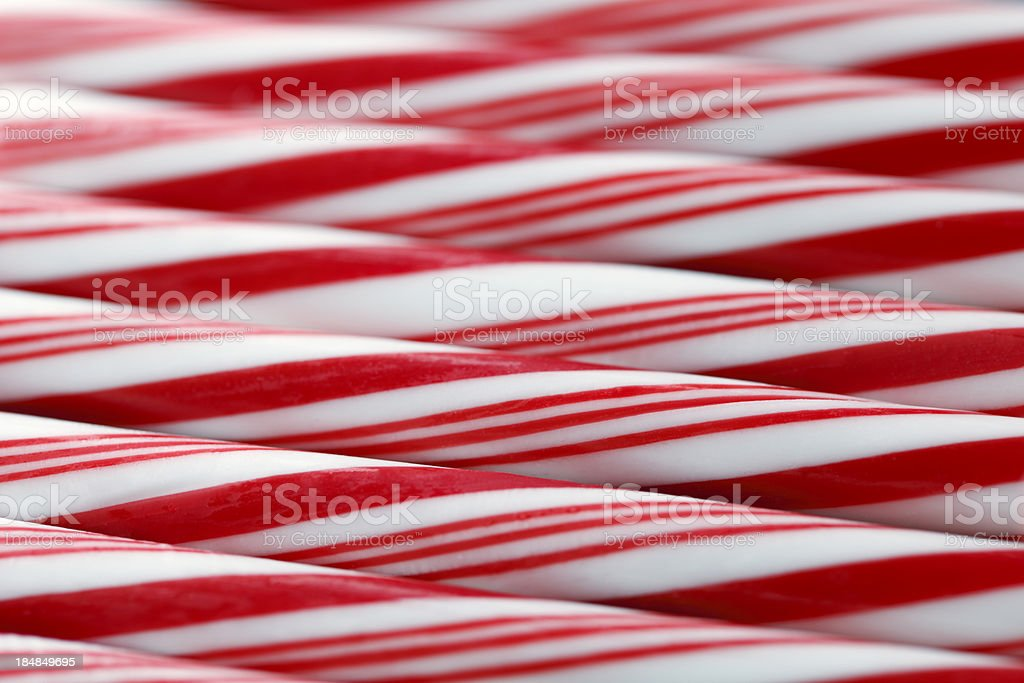 Candy Cane Background royalty-free stock photo
