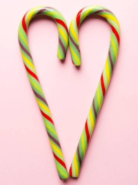candy cane - - weihnachtsspende stock-fotos und bilder