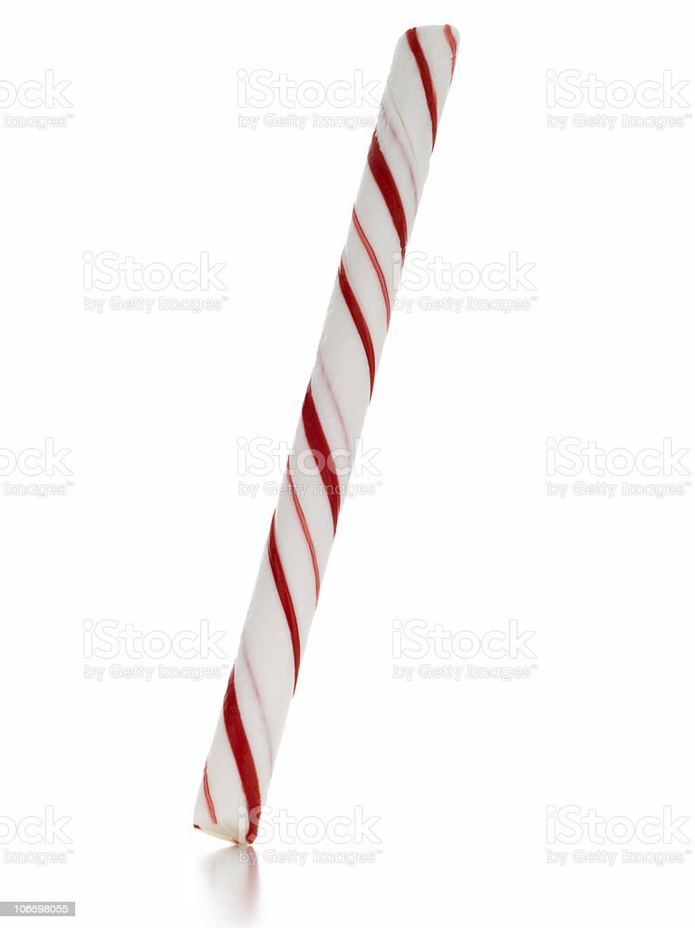 candy cane stick royalty-free stock photo