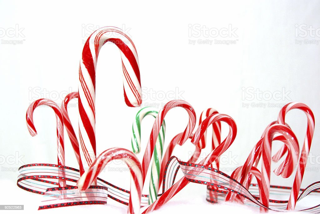 Candy Canes 1 royalty-free stock photo