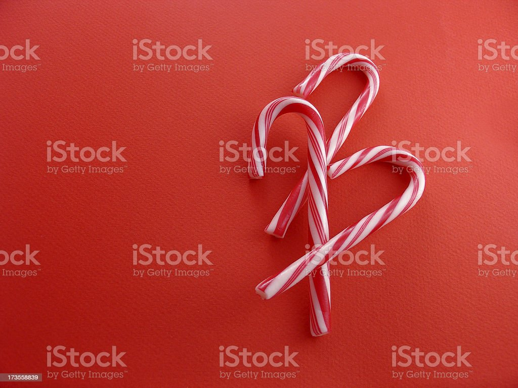 candy canes 3 royalty-free stock photo