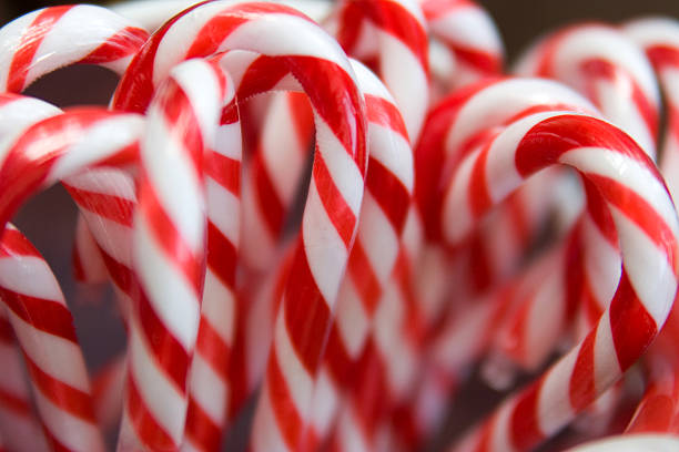 Candy Canes  candy cane stock pictures, royalty-free photos & images
