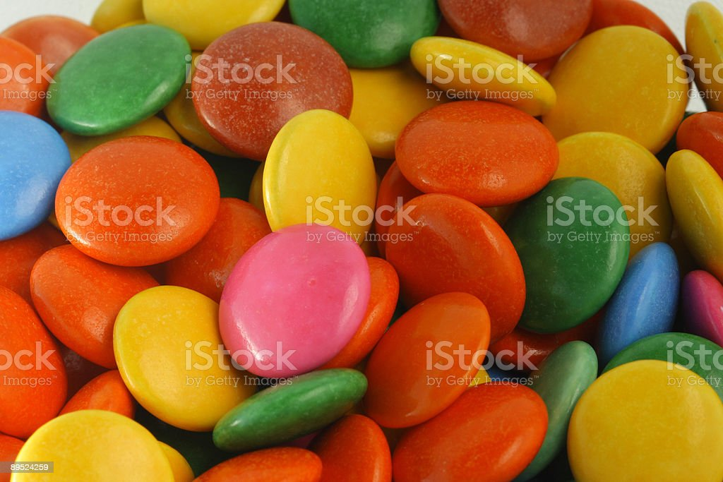 Candy close up stock photo