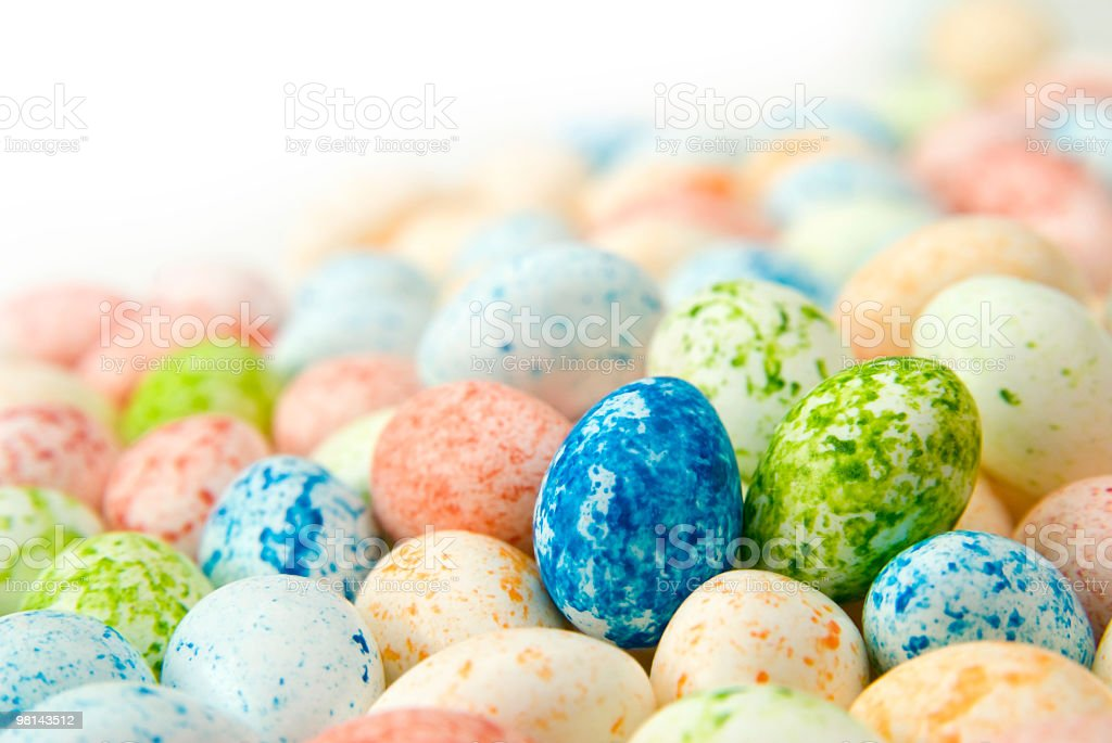 candy eggs royalty-free stock photo