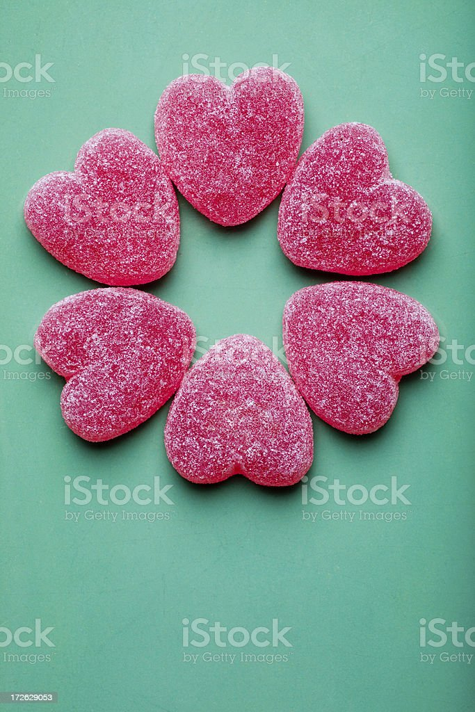 Candy flower royalty-free stock photo