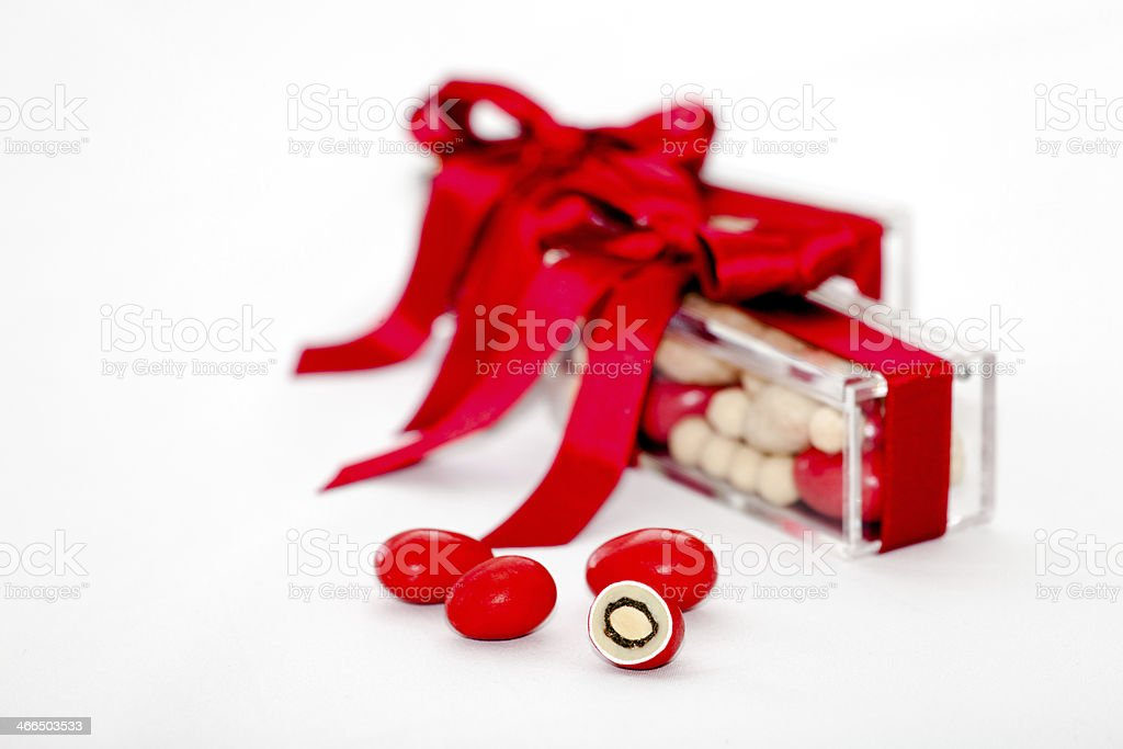Candy gift stock photo