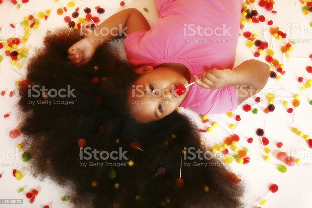 Candy Girl royalty-free stock photo