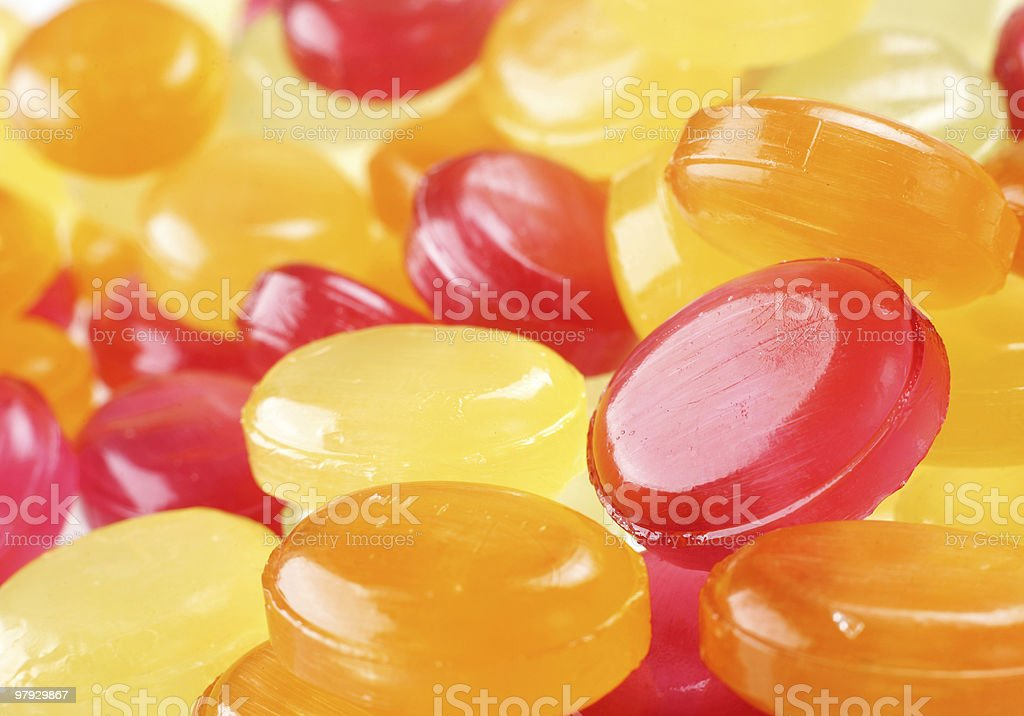 Candy glass royalty-free stock photo