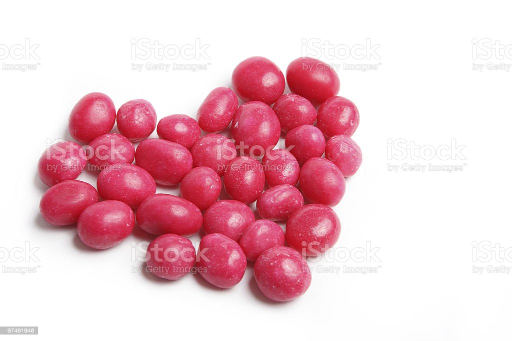 Candy heart royalty-free stock photo