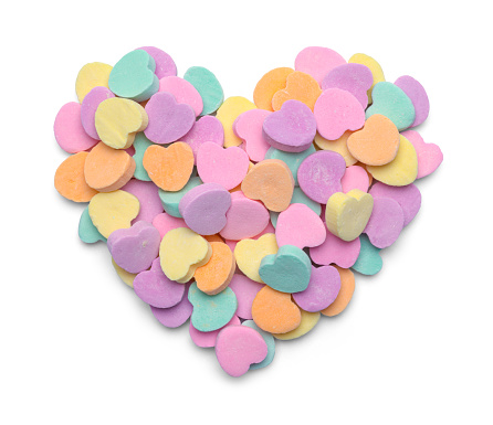 Candy Heart Pile