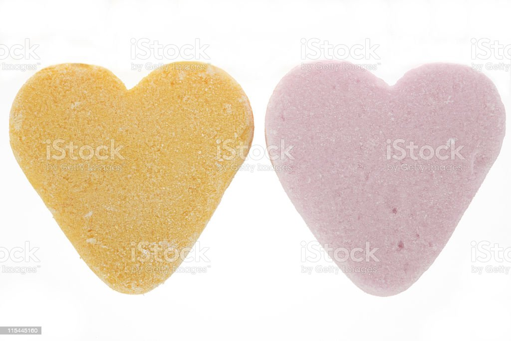 Candy Hearts royalty-free stock photo