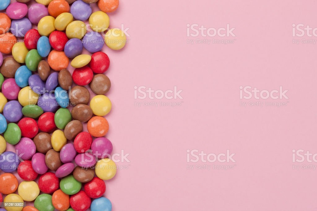 Candy - Isolated stock photo