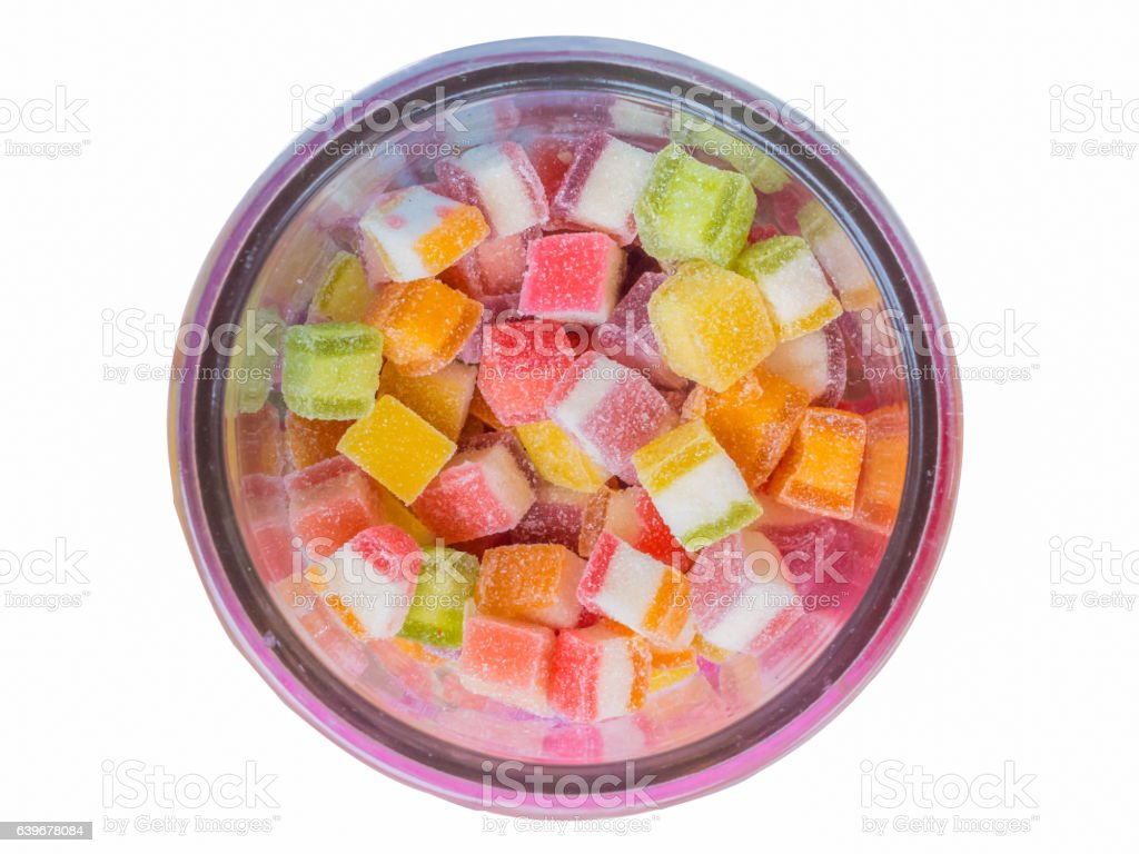 candy isolate,on white background stock photo