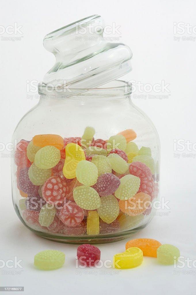 candy jar royalty-free stock photo