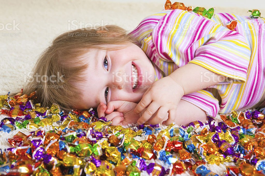 Candy kid royalty-free stock photo