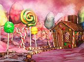 キャンディの風景