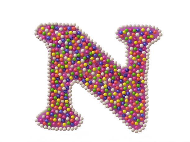 Candy Buchstabe N – Foto