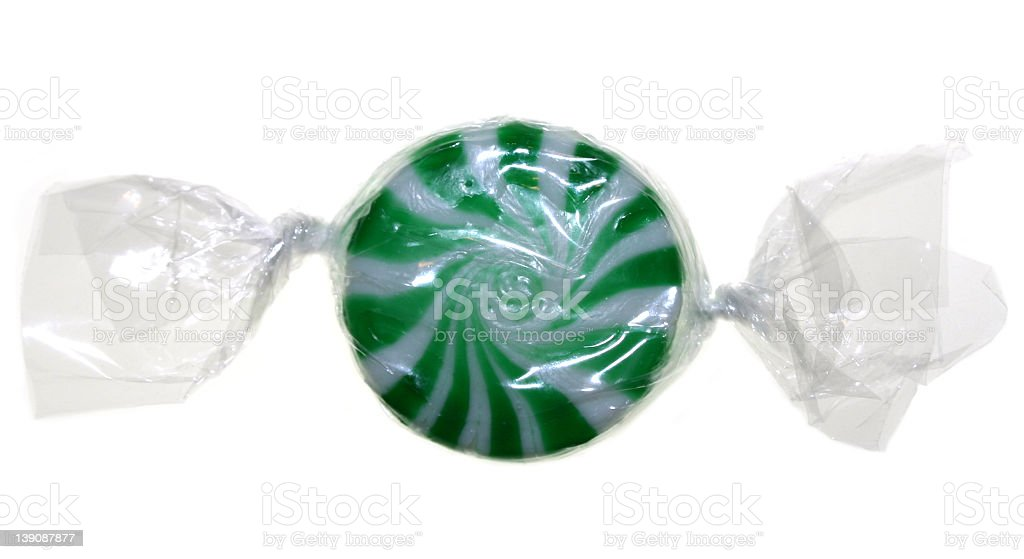 Candy - Mint stock photo
