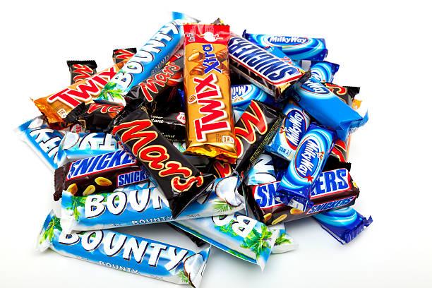 candy - milky way stock-fotos und bilder