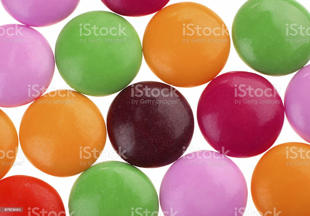 Candy pill royalty-free stock photo