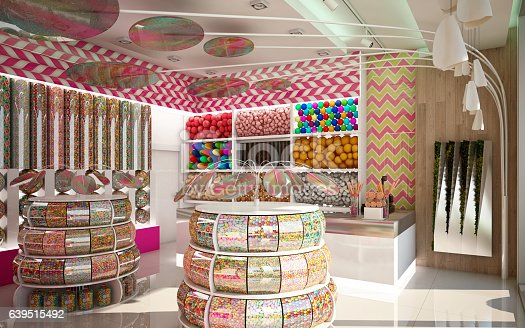 Candy Shop in Colorful Design Camera 1