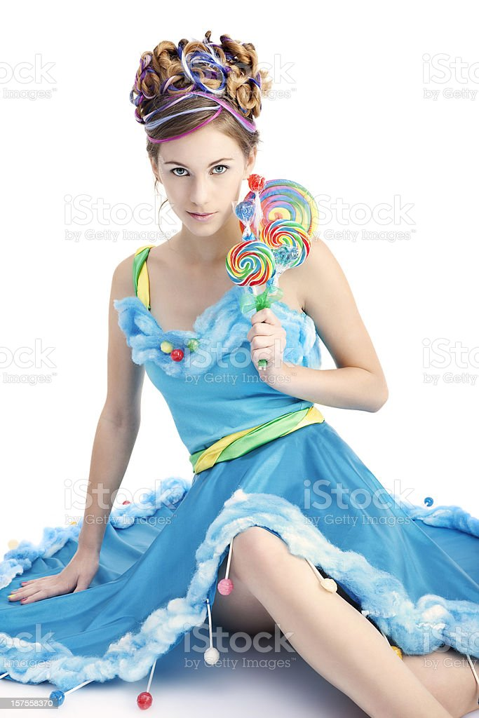 Candy Sprite royalty-free stock photo
