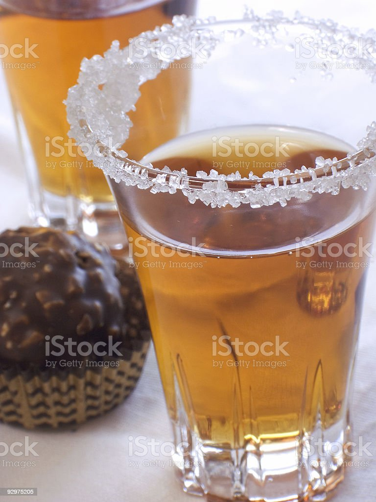 Candy with liquor III royalty-free stock photo