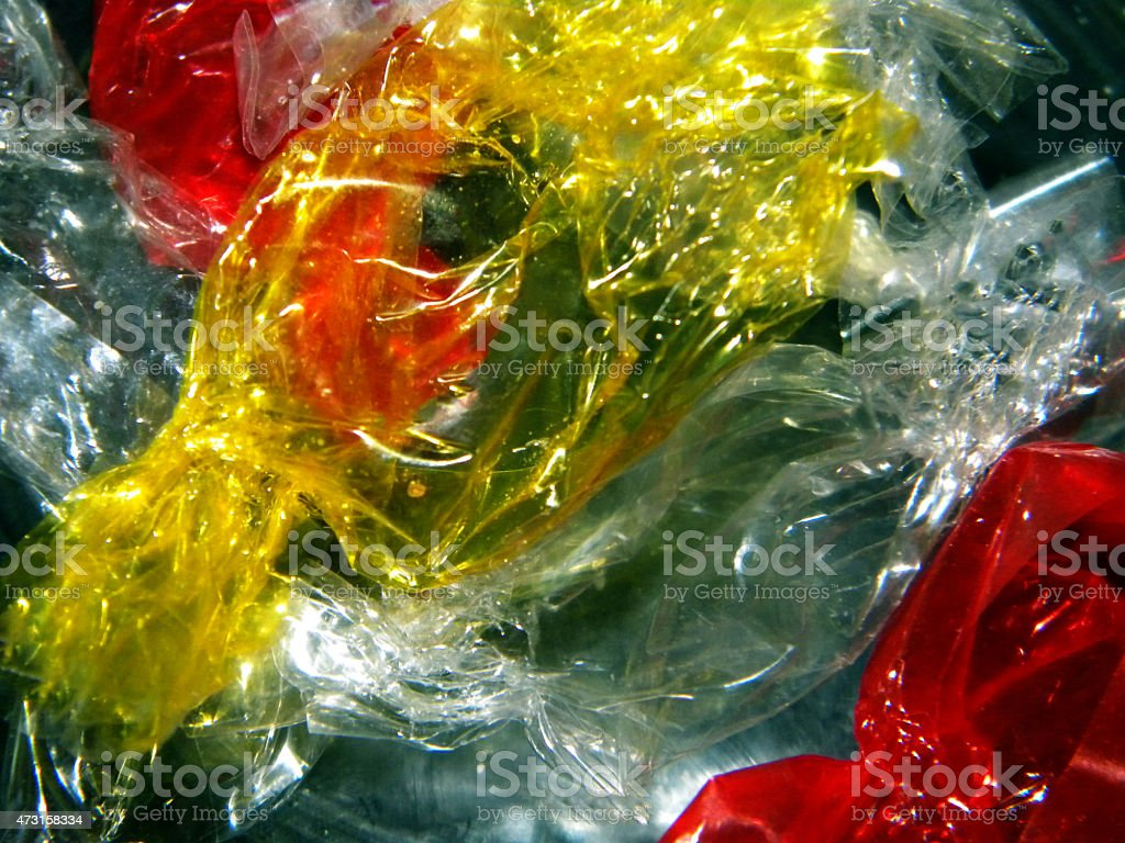 Candy Wrappers stock photo
