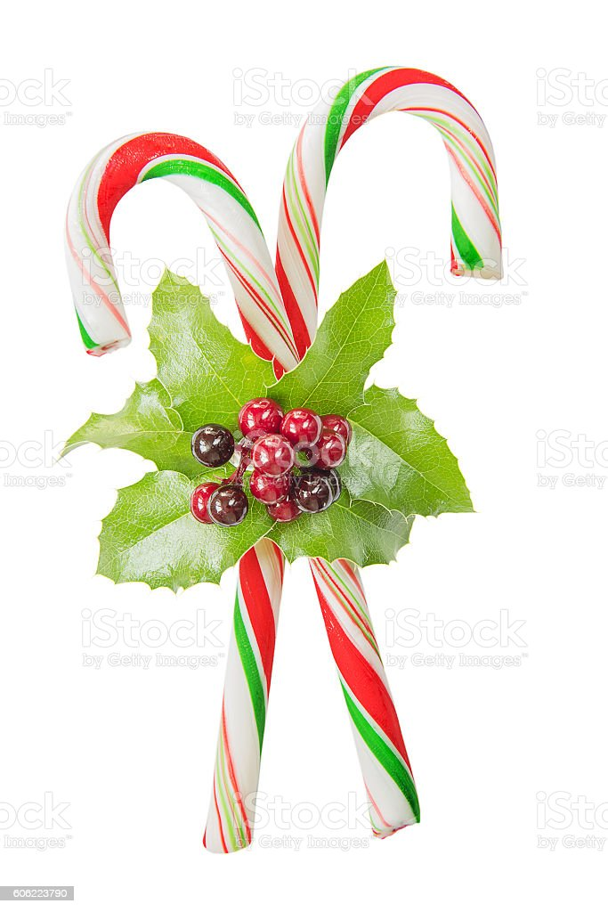 Candy-canes stock photo