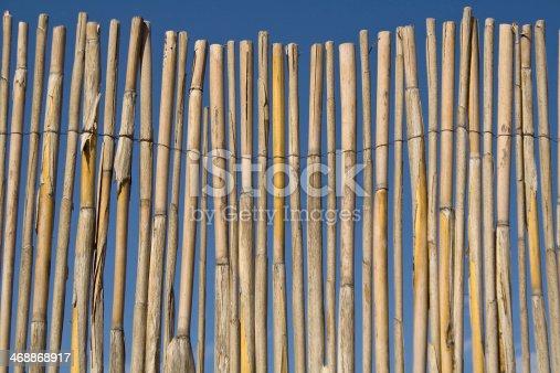 istock Cane fence 468868917