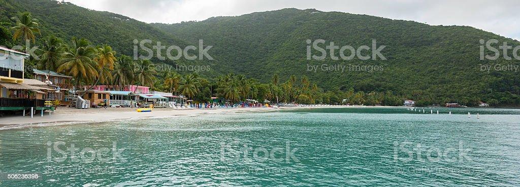 Cane Garden Bay, Tortola stock photo