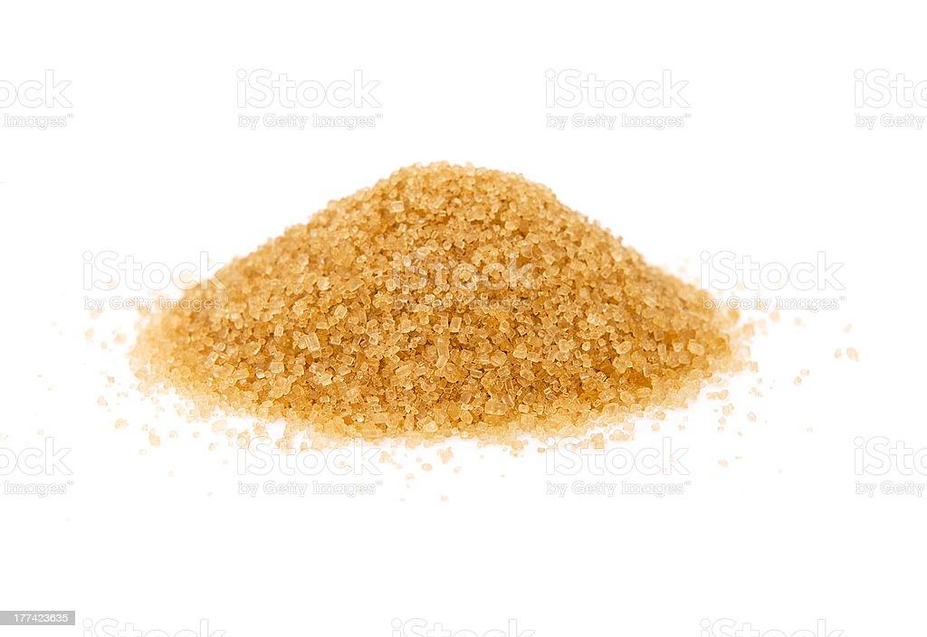 Cane sugar stock photo