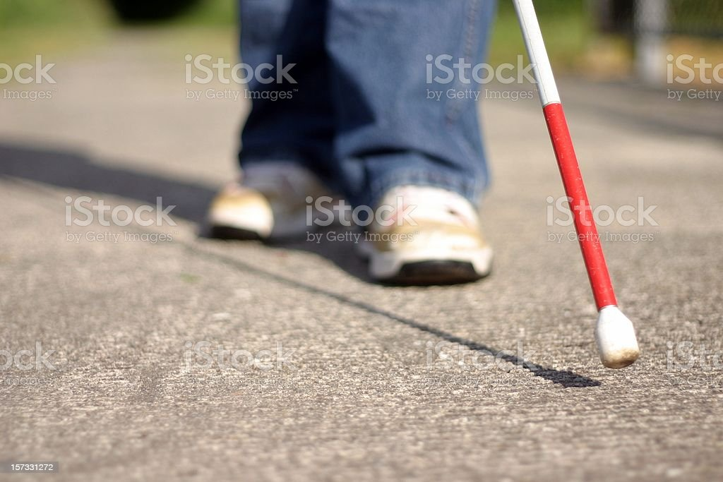 Cane Tip and Feet stock photo