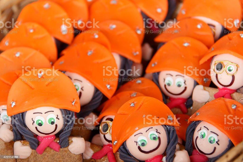 Cangaceiro dolls stock photo