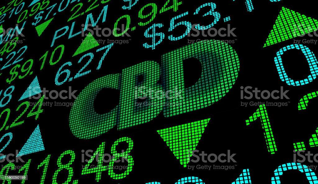 CBD Cannabidiol Hemp Marijuana Cannabis Stock Market Business Company...