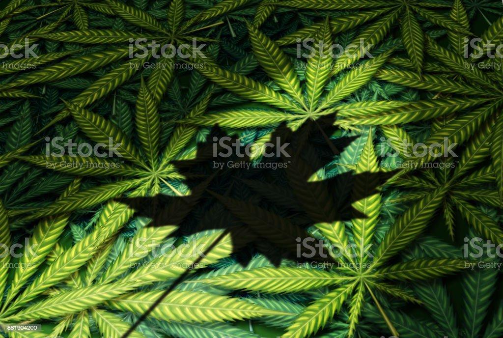 Cannabis Canada Law stock photo