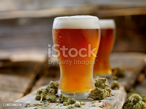 Cannabis Infused Amber Ale
