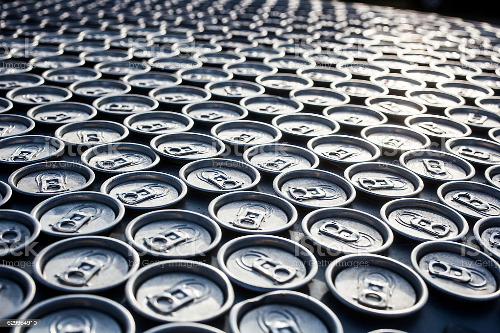 canned drinks stock photo