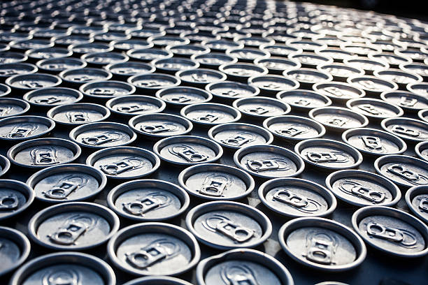 canned drinks - aluminium stock photos and pictures