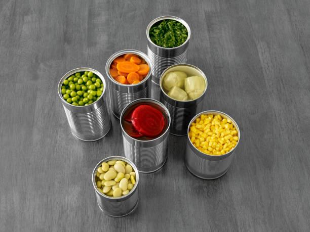 통조림 - 통조림 식품 뉴스 사진 이미지