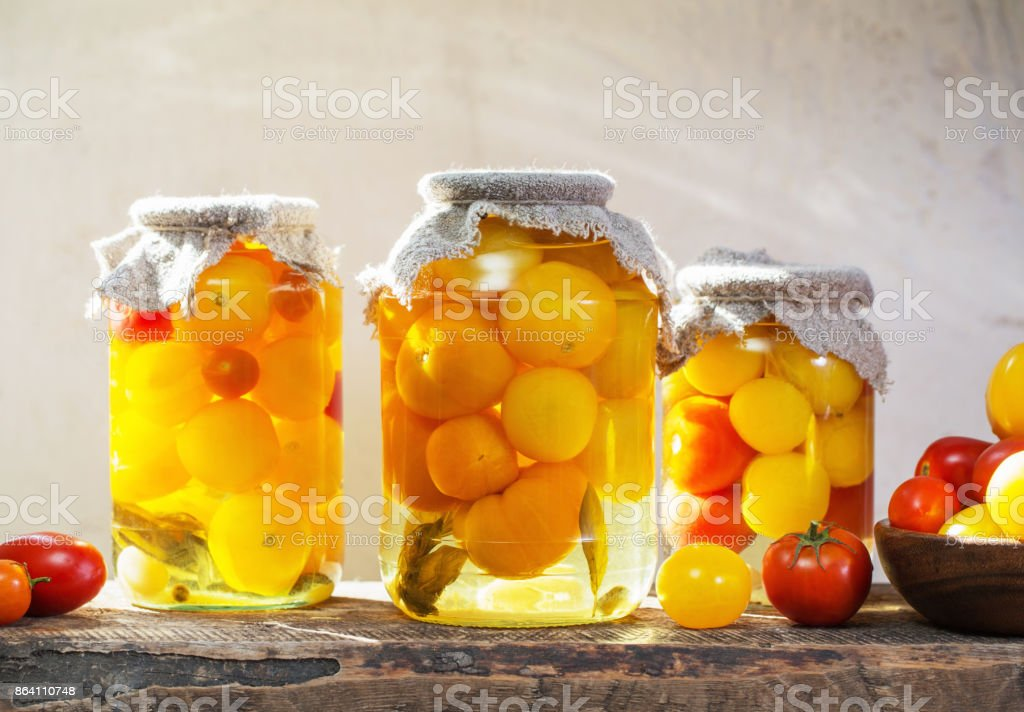 canned vegetables in jars royalty-free stock photo